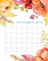 november 2017 calendar printable template free printable calendar