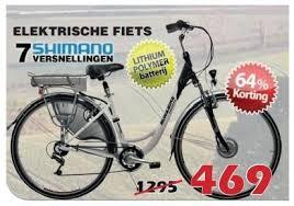 Elektrische fiets promo