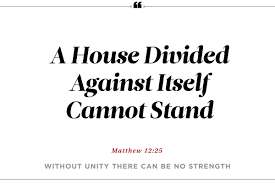 A House Divided Quote Bible 24 Surprising Phrases from the Bible Reader's Digest 1