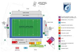 Principal Park Seating Chart Matchday Guide Cardiff Blues