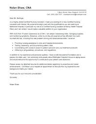 Sample Cover Letter For A Nurse Sample Cover Letters For Nursing Jobs Cover Letter For Nursing