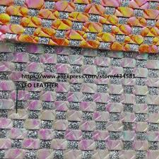 weaving leather pearlized leather and glitter synthetic leather fabric faux leather fabric diy material for bags shoes p1229 wigb51816