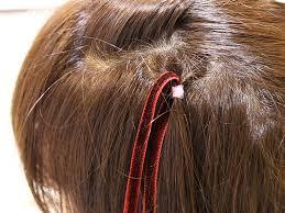 編み込みヘアwithベルベットリボンで作るふわふわガーリーなハーフ