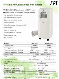 air conditioning heat pump. sunpentown portable air conditioner ac, wa-1061h a/c heat pump conditioning i