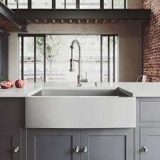 vigo sink reviews. Unique Sink VIGO AllinOne Farmhouse Apron Front Stainless Steel 33 In Single Bowl Inside Vigo Sink Reviews