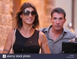 Elisabetta Canalis And Brian Perri Stockfotos und -bilder Kaufen - Alamy
