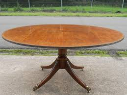 expandable round pedestal dining table. expandable round pedestal dining table