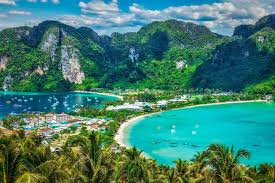 Tropical wallpaper Island Koh Phi Phi ...