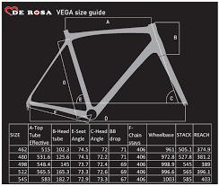 De Rosa Vega Carbon Road Frameset 51cm