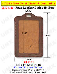 identity card size fashion leather id card holders vertical credit card size