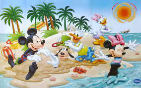 Minnie Mouse Pool Party Invitations ...