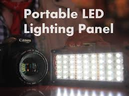 diy led lighting. Picture Of DIY Portable LED Lighting Panel Diy Led Lighting E