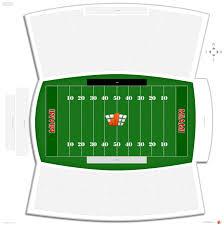 Miami University Football Stadium Seating Chart Yager Stadium Miami Oh Seating Guide Rateyourseats Com