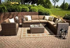 simple yet elegant outdoor patio furniture pattern rug with outdoor patio furniture wicker