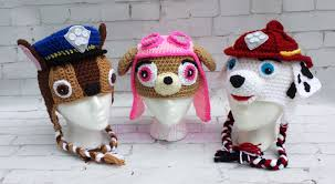 Paw Patrol Crochet Patterns