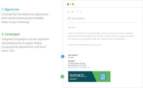 Company Email Signature Email Signature Examples