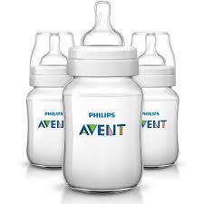Avent Decorated Bottles Philips Avent AntiColic BPAFree Baby Bottles 100oz Clear 100 ct 80
