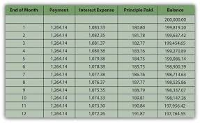 House Amortization Payment Calculator Identify The Financing