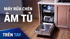 Máy rửa chén âm tủ, tặng vợ thì cái này còn hơn iPhone - YouTube