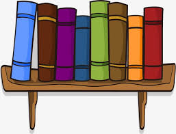 cartoon books bookshelf cartoon bookshelf books png and vector