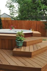 836 best jacuzzi house images on Pinterest | Decks, Garden ideas and  Backyard ideas