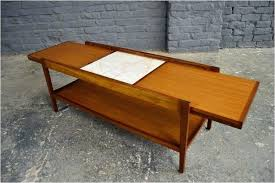 sliding coffee table sliding top coffee table sliding top coffee table vintage retro mid century teak