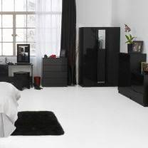 black bedroom furniture. Beautiful Furniture Black Gloss Bedroom Furniture Orient High Furniture  QSRMOZT In Black Bedroom Furniture R