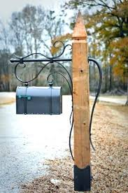 metal mailbox post designs. Wonderful Post Mailbox Post With Newspaper Holder Metal Steel  Ideas With Metal Mailbox Post Designs O