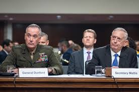 Image result for Mattis and the Joint Chiefs of staff