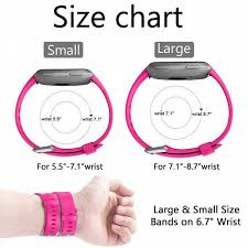 Silicone Wristbands Size Chart Sdgj 009 Watch Band Fitbit Strap Silicone Wrist Strap Replacement Wristband For Fitbit Versa Fitness Smart Watch Paw0030gr 3 Green