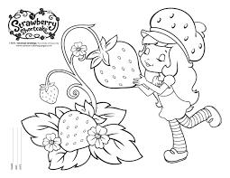 Small Picture Free Strawberry Shortcake Coloring Pages Strawberry Shortcake