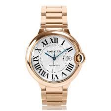 mens cartier watches the watch gallery cartier ballon bleu de cartier automatic rose gold mens watch w69006z2