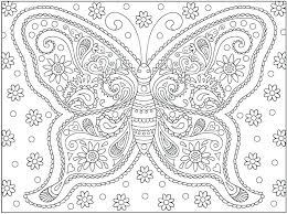 Butterfly Printable Coloring Pages Monarch Butterfly Coloring ...