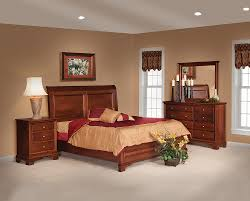 Solid Wood Bedroom Suites Amish Bedroom Suites In Furniture Home And Interior