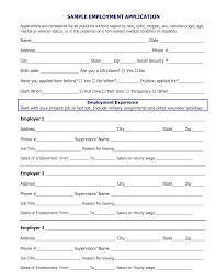 Job Applications Sample 014 Template Ideas Applications For Employment Templates