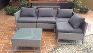sunbrella garden wedge cushions home depot suncrown clearance chair table covers sectional furniture outdoor bunnings kmart