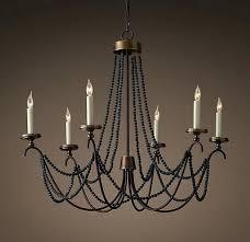 black wooden beads beaded chandelier australia impressive designs