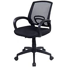 desk swivel chair. Goplus Computer Office Chair Ergonomic Mesh Desk Task Midback Swivel Chair, Black L