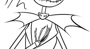 Jack Skellington Coloring Pages Beautiful Best Images On Of