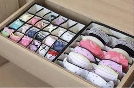 Lingerie drawer organizers help keep your undergarments on the straight and  narrow-- 53 Seriously Life-Changing Clothing Organization Tips