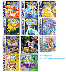 Pokemon Pack Game Boy Color F By 4ng3l76 On Deviantart