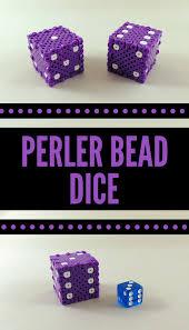 Perler Bead Pattern Fascinating Easy 48D Perler Bead Project Perler Bead Dice Tutorial Krysanthe