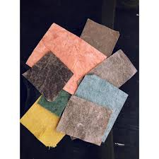 our lotus microfiber leather is plant based and plastic free 100 biodegradable and organic it address key environmental and social issues at each stage