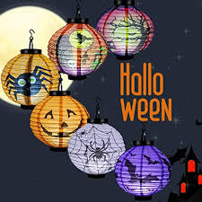 <b>Halloween</b> Pumpkin Lanterns 6 Pack, Luxiv <b>LED Lantern</b> for ...