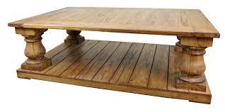 large rustic pine coffee table rustic furniture coffee table square table from wood furnish finishing