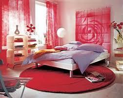 Runde Rote Teppich Und Rosa Vorhang Für Schöne Schlafzimmer Ideen