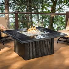 Image result for outdoor living fire pit in table beside fireplace