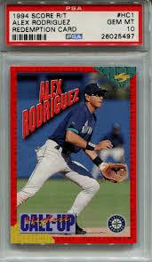 1994 fleer update alex rodriguez. Alex Rodriguez Rookie Card Best Cards Value And Checklist
