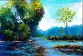 landscape oil painting outdoor goods 18