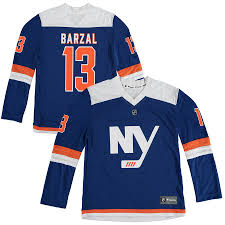 Barzal Replica Mathew Jersey Royal Youth New Islanders Player Fanatics Branded York Alternate